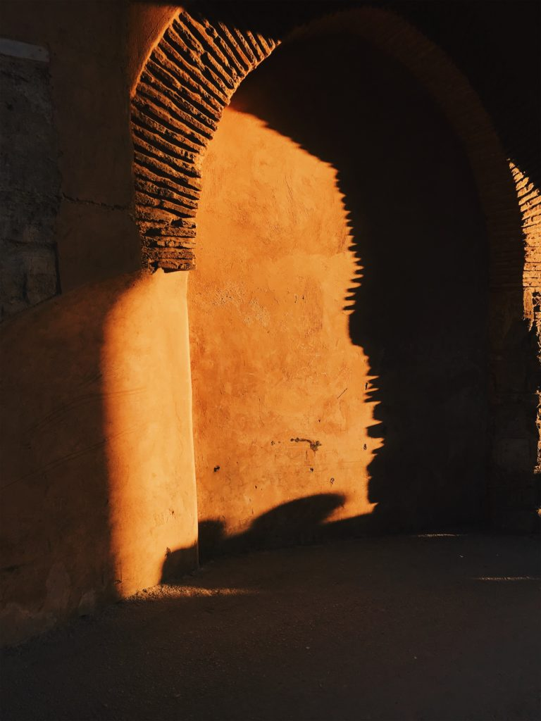 Kasbah of the Udayas at Golden Hour