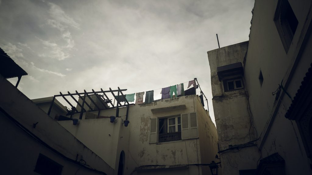 cloudy, buildings, rabat